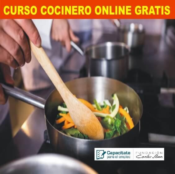 CURSO COCINERO ONLINE GRATIS