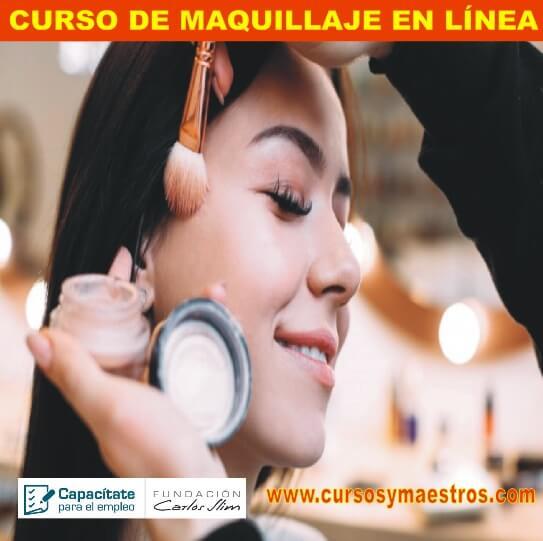 CURSO MAQUILLAJE EN LÍNEA