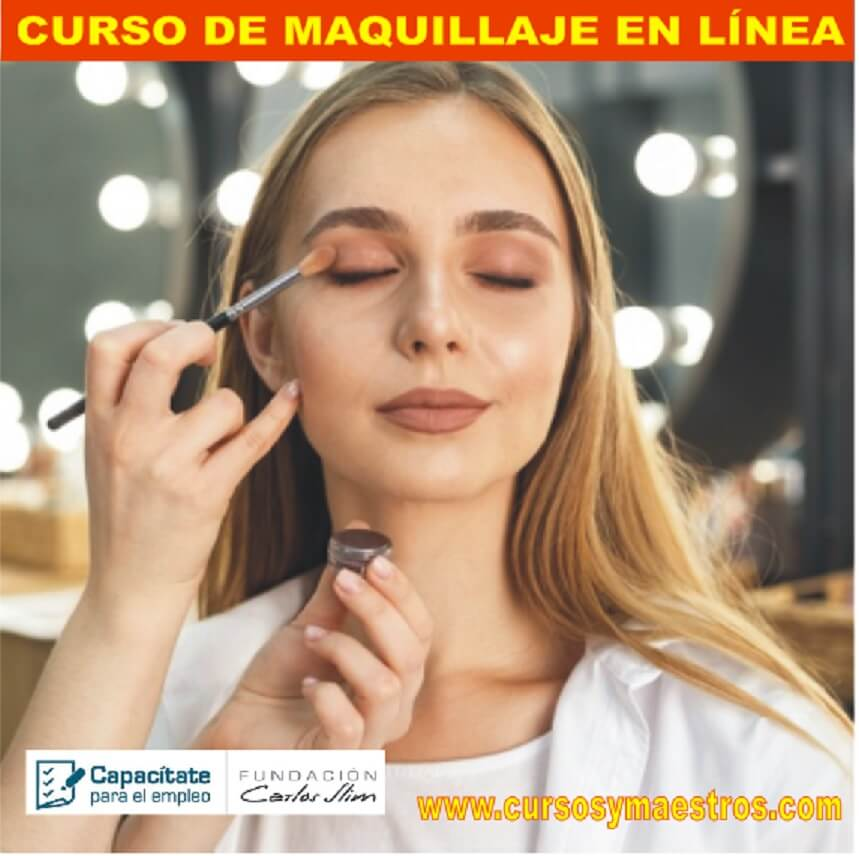 CURSO DE MAQUILLAJE EN LÍNEA