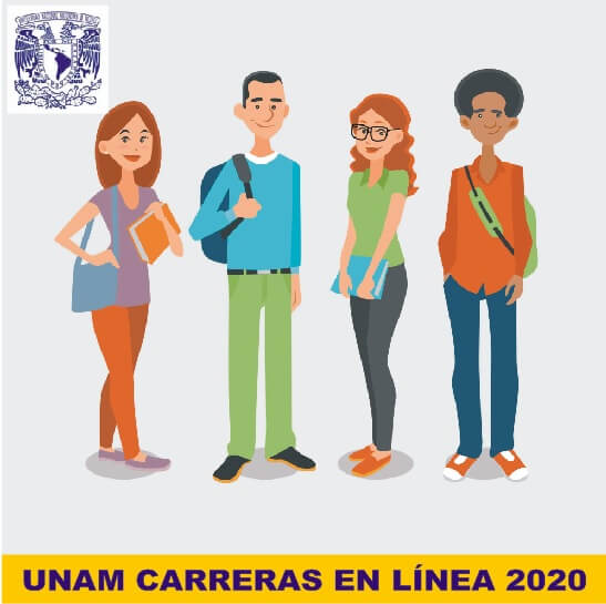 UNAM CARRERAS EN LÍNEA 2020