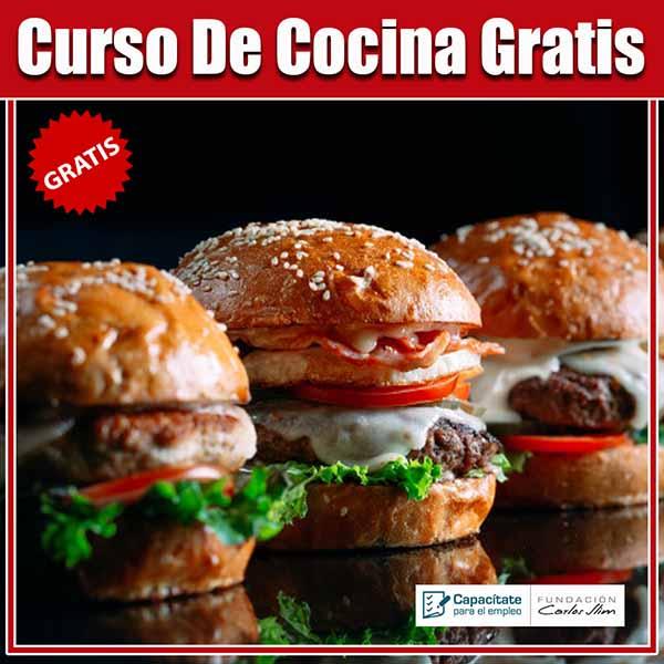 Curso Cocina Online Gratis.