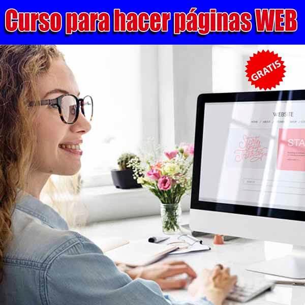 Curso para hacer paginas WEB