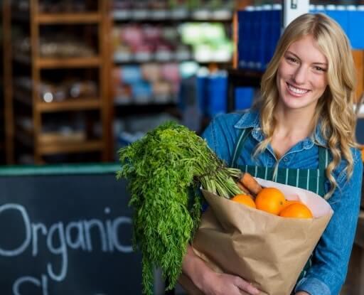 promotor de productos orgánicos