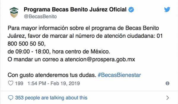 Informacion de Becas en Mexico